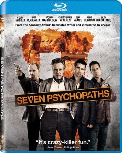 Seven Psychopaths 2012 Dark Comedy Blu-Ray Movie (New Unopened)
