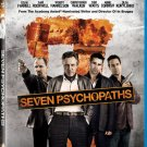 Seven Psychopaths 2012 Dark Comedy Blu-Ray Movie (New Unopened)