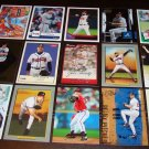 John Smoltz 25 Different Baseball Cards Lot Atlanta Braves HOFer