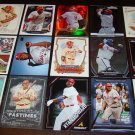 Ryan Howard 25 Different Baseball Cards Lot Philadelphia Phillies