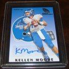 Kellen Moore 2012 Fleer Rookie Sensations Autograph Football Card Boise State
