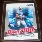 Calvin Johnson 2011 Score In The Zone Insert Football Card Detroit Lions