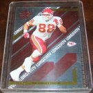 Tony Gonzalez 2004 Leaf R&S Longevity Parallel Football Card Serial # 41/125