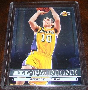 Steve Nash 2013-14 Panini All Panini Insert Basketball Card