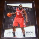 James Harden 2013-14 Panini Knight School Insert Basketball Card