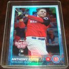 Anthony Rizzo 2015 Topps Foil Parallel Baseball Card Chicago Cubs