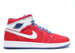 Air Jordan 1 -  sport red/varsity blue-white