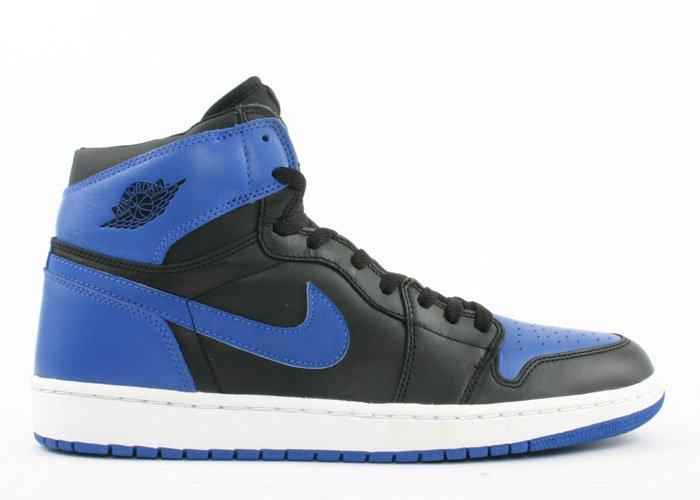 Air Jordan 1 -  black/royal blue
