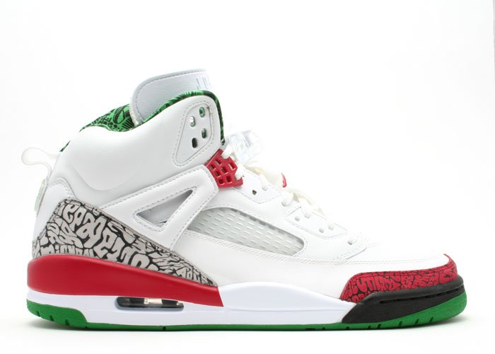 Nike Jordan Spiz'ike -  white/varsity red-cool grey-classic green