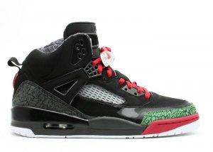 Nike Jordan Spiz'ike -  black/varsity red-classic green