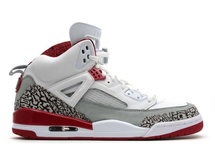 Nike Jordan Spiz'ike -  white/varsity red-cement grey-black