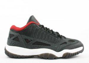 Air Jordan 11 -  black/varsity red-dark charcoal