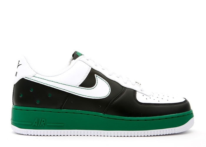 Air Force One Low - black/white-pine green
