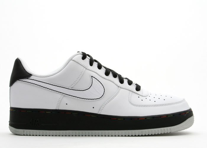 Air Force One - white/white-black-metallic silver