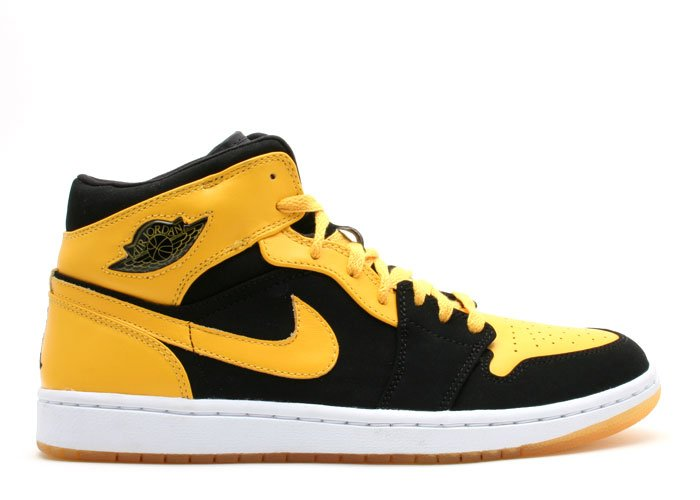 "Air Jordan 1 - ""beginning moments pack"" black/white-varsity maize"