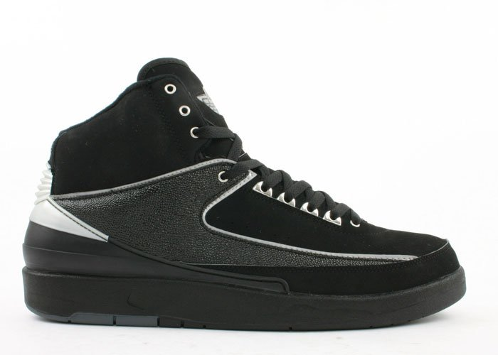 Air Jordan 2 - black/chrome