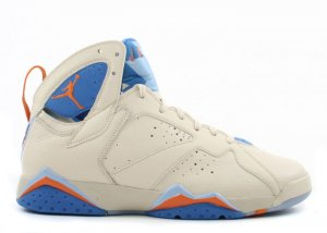 Air Jordan 7 -  pearl white/bright ceramic-pacific blue