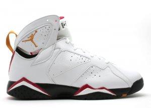 Air Jordan 7 - white/black cardinal-red bronze