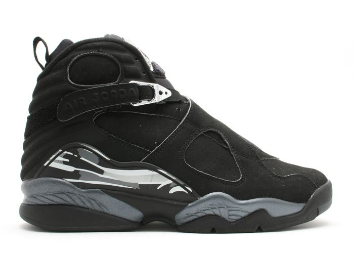 Air Jordan 8 - black/chrome