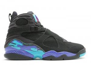 """Air Jordan 8 - """"aqua"""" black/bright concord-aqua tone"""
