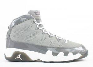 Air Jordan 9 - medium grey/white-cool grey
