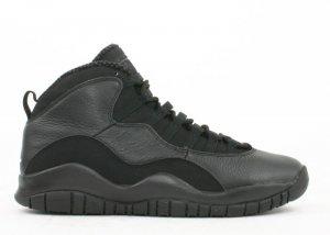 Air Jordan 10 -  black/white