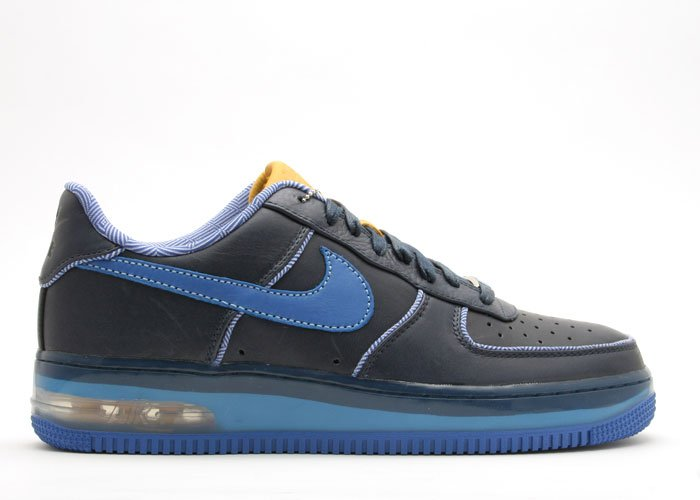 "Air Force One Low - ""london edition"" obsidian/varsity royal-varsity maize"