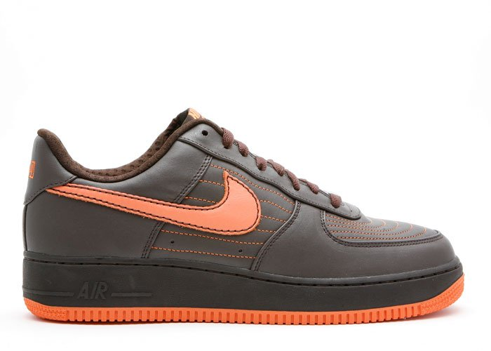 "Air Force One Low - ""barkley pack"" dark cinder/soft orange"