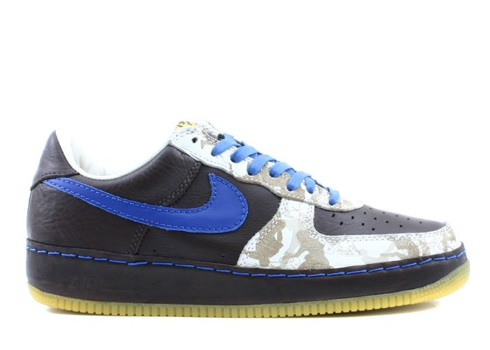 Air Force One Low - INDISE/OUT  baroque brown/varsity royal-sail