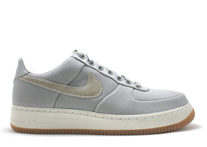 Air Force One Low  - medium grey/sail-white