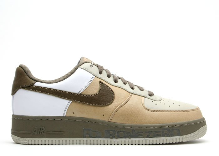 Air Force One Low - tweed/bronzed olive-white-light stone