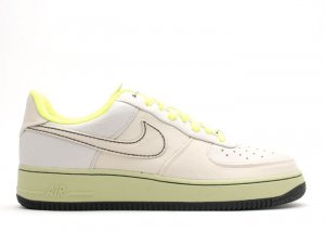 Air Force One Low - light bone/light bone-volt-black
