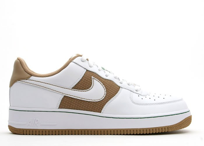 Air Force One Low - hay/white-pine green