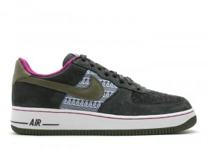 "WOMENS Air Force One Low - ""nordic pack"" aluminum/army olive-dk charcoal"