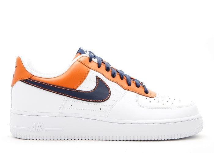 Air Force One Low - soft orange/binary blue