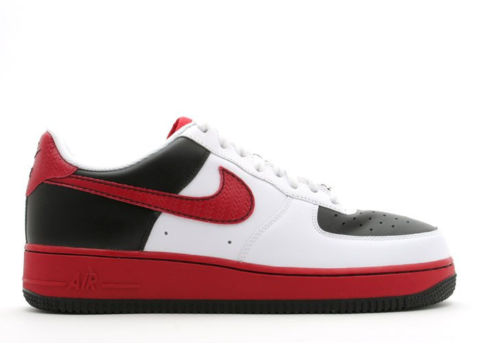 Air Force One Low - white/varsity red-black