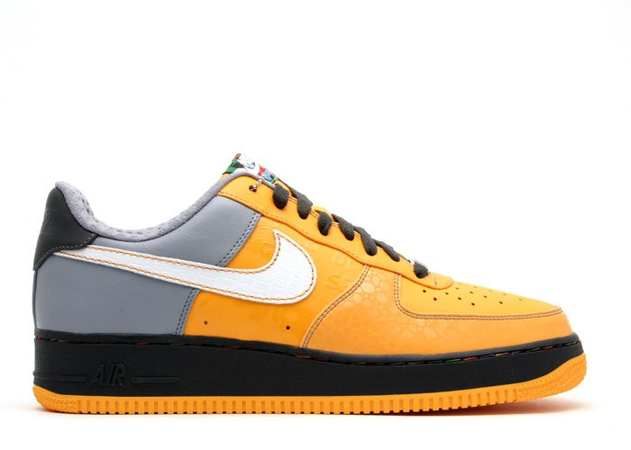 Air Force One Low - pro gold/white-stealth-anthracite