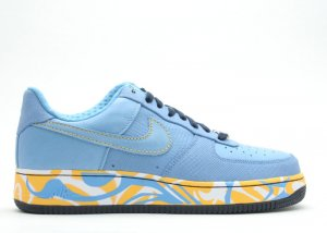 Air Force One Low - university blue/varsity maize