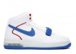 "Air Force One Mid - ""barkley pack"" white/varisty royal-varsity red"