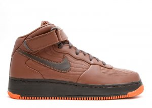 "Air Force One Mid - ""barkley pack"" rustic/dark cinder-soft orange"