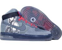 Air Force One High - flint grey / anthracite / varsity red