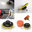 4 inch Gross Polish Polishing Buffer Pad Kit With Drill Adapter