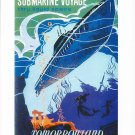 "DISNEYLAND RESORT ""SUBMARINE VOYAGE"" CLASSIC ATTRACTION POSTER PRINT"
