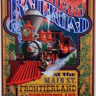 "DISNEYLAND RESORT DISNEYLAND RAILROAD"" CLASSIC ATTRACTION POSTER PRINT"
