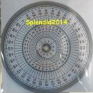 Full circle protractor diameter 15 cm 360 degree protractor