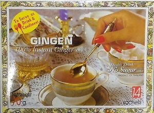 Gingen 100% Instant Ginger Healthy drink Delicious Aromatic No sugar added