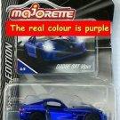 Majorette DODGE SRT Viper car Purple colour Diecast 1/59 Limited edition Series3