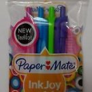Paper mate inkjoy mini retractable pen 4 bright color ink 0.7 mm