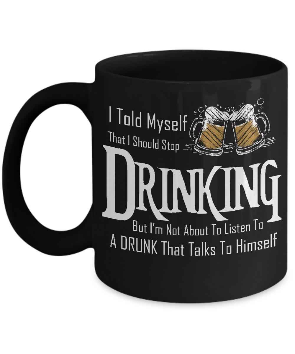 TeesCloset Novelty Funny Mugs For Guys - Funny Mugs For Men - Gift For Beer Drinkers (11oz)