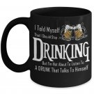 TeesCloset Novelty Funny Mugs For Guys - Funny Mugs For Men - Gift For Beer Drinkers (11oz)